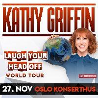 [KONKURRANSE] – Vinn billetter til showet med Kathy Griffin i Oslo!